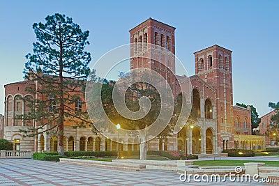 University of California, Los Angeles campus Editorial Photography