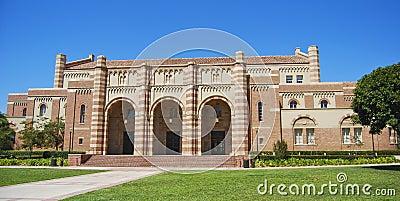 University campus architecture