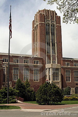 University of Denver Editorial Stock Image