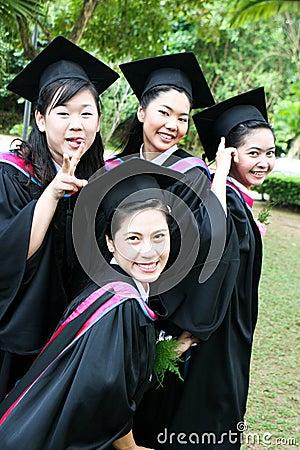 Free University Graduates Royalty Free Stock Photos - 6409598