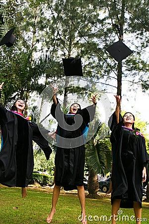 Free University Graduates Stock Image - 6410461