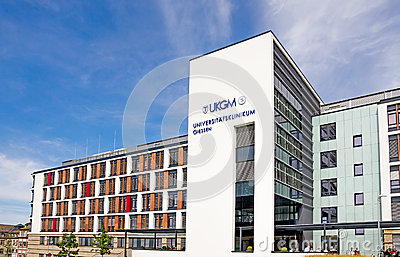 University Hospital Giessen and Marburg Editorial Image