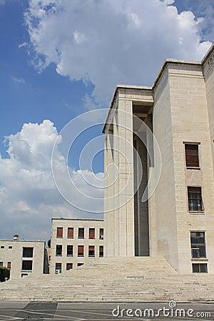 University la Sapienza in Rome (Italy)