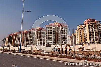 University of Macau new campus Editorial Image