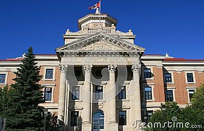 The university of Manitoba Editorial Image