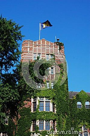University of Michigan Union tower