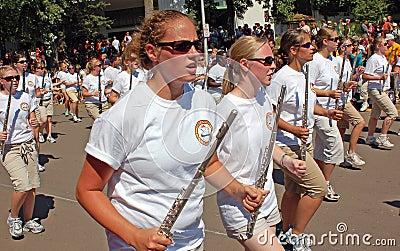 University of Minnesota Marching Band Editorial Image