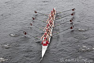 University Of Oklahoma races in the HOTC Editorial Stock Photo