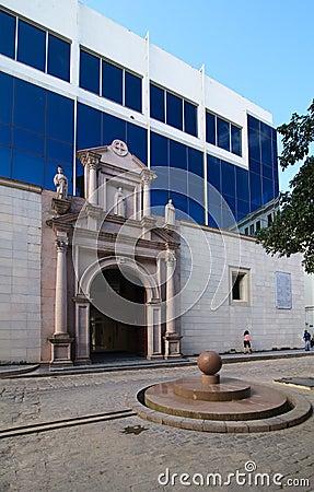 University in Old Havana. Editorial Photography