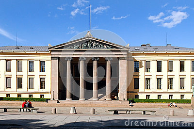 The University of Oslo Editorial Stock Photo