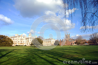 University Park in Cambridge, United Kingdom