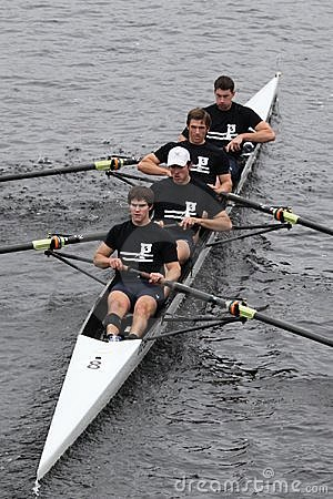 University of Pennsylvania Crew Mens Fours Editorial Photography