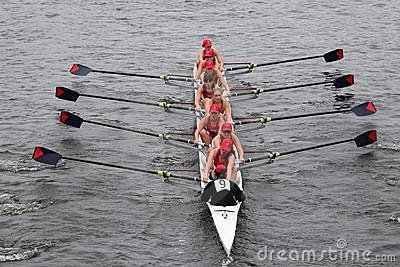 University Of Pennsylvania races in the HOTC Editorial Stock Image