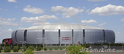 University of Phoenix Cardinal Stadium Editorial Image