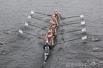 University Of Rhode Island races in the HOTC Editorial Photo