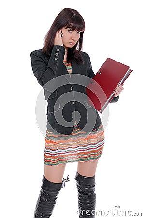 University student at school