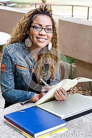 University student study