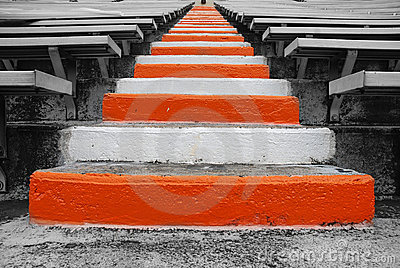 University of Tennessee Football Field stairs