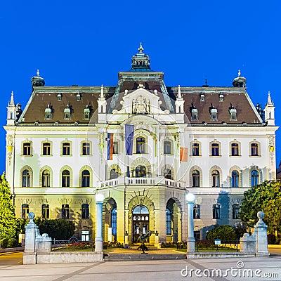 Uniwersytet Ljubljana, Slovenia, Europa.