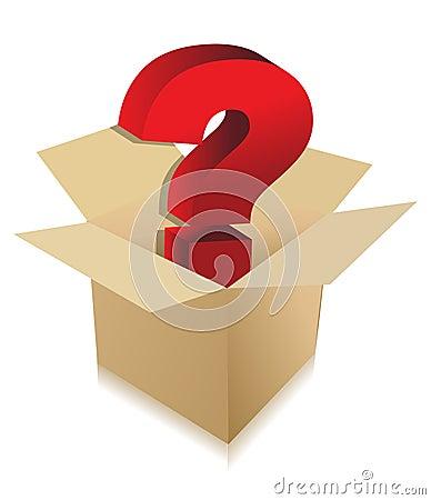 Free Unknown Box Content Concept Stock Photo - 20237160