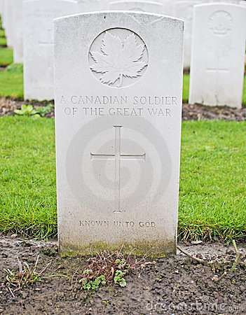 Unknown Canadian Soldier