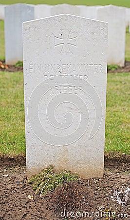 Unknown German Soldier