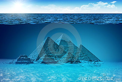 Unknown world of Pyramids