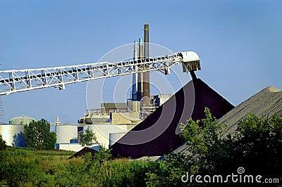 Unload Coal Electric Plant