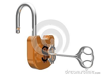 Unlocking the US dollar currency lock