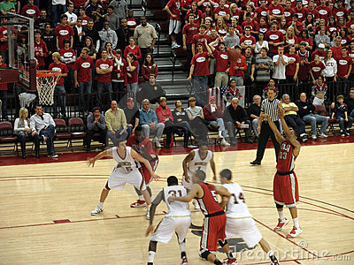 UNLV vs. Santa Clara: Tre Von Willis takes a shot Editorial Photo