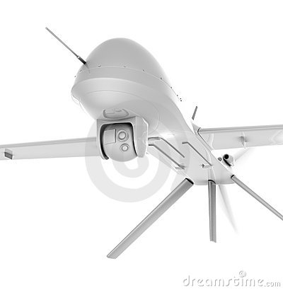 Unmanned air vehicle closeup