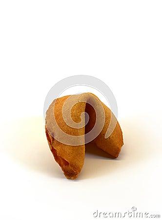 Unopened fortune cookie