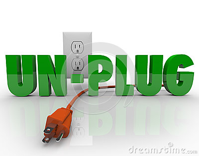 Unplug Cord Electrical Outlet Electricity Power
