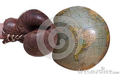 Unprotected globe