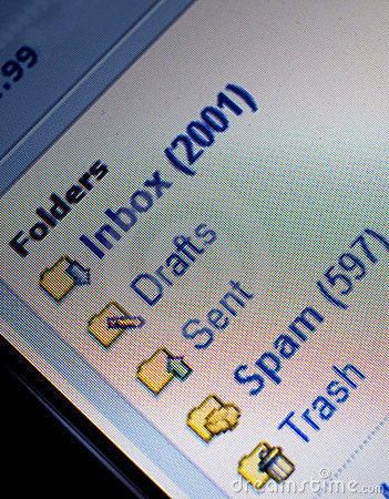 Unread mail and spam