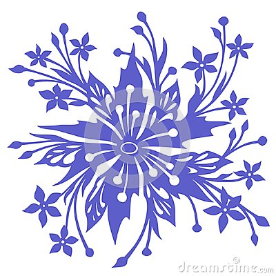 Unreal flower