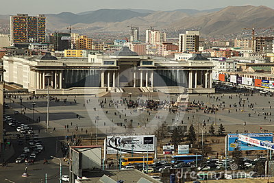 Unrest following ex-president arrest, Mongolia Editorial Photo
