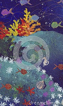 Unspoiled marine life -