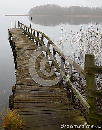 Free Unstable Bridge Royalty Free Stock Photography - 4138837