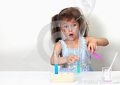 Unsuccessful chemical experiment