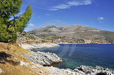 Untamed Greek coast