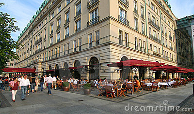 Unter den Linden Editorial Stock Image