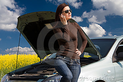 Unterbrochener Motor