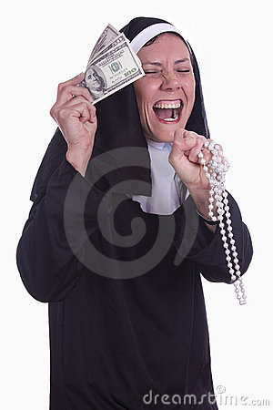 Unterschiedliche Nonne