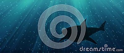 Unterwasserhaifisch