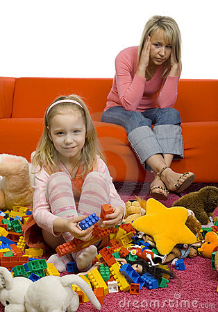 Free Untidy Children S Room Stock Photo - 2229970