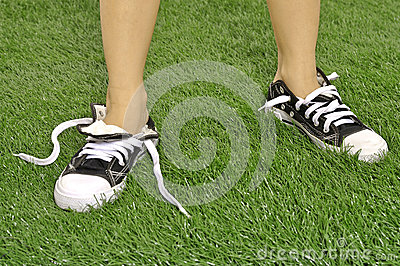 Untied Shoes