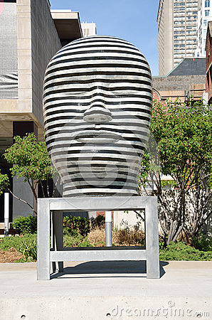 Free Untitled Sculpture By Jun Kaneko, Toronto, Canada Stock Photography - 59144992