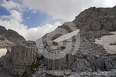 Untouched Albanian Alps