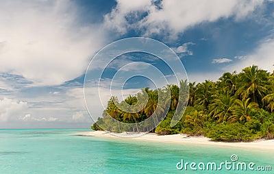 Untouched island